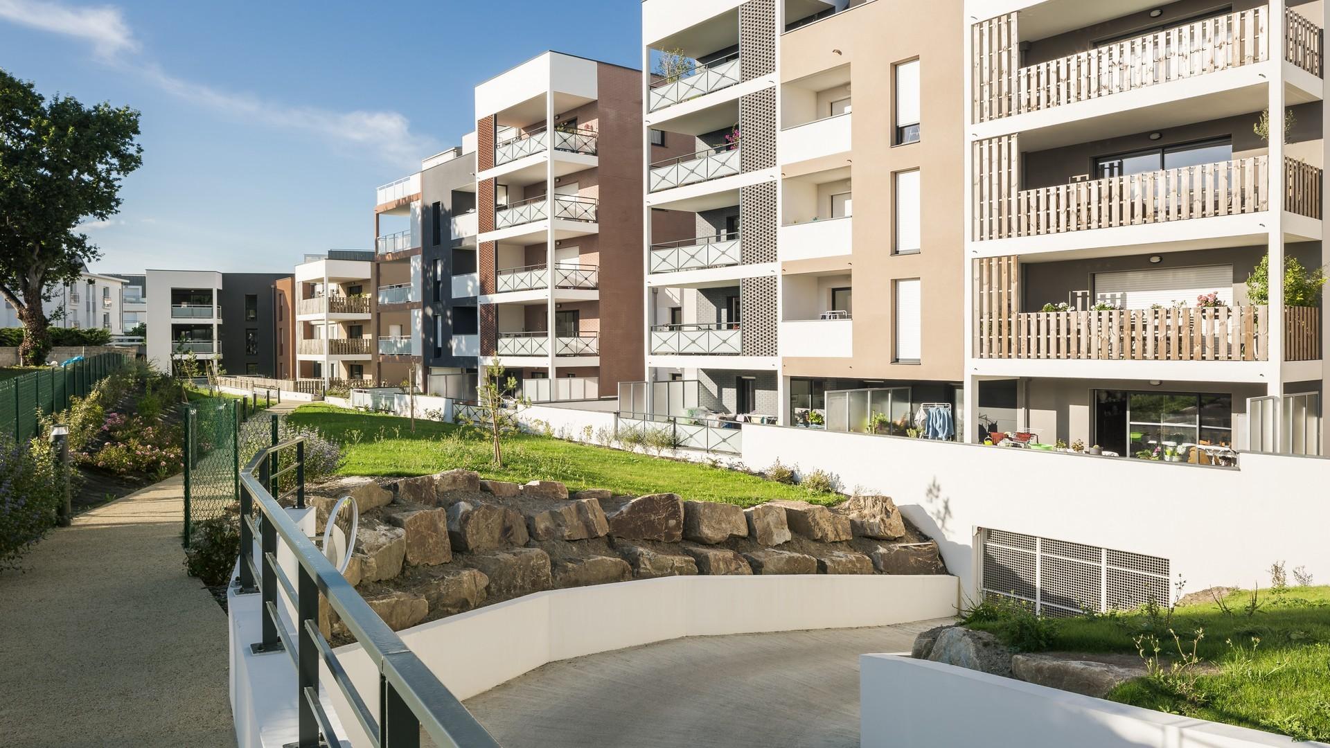 51 logements quai amp re dinard r alisations cnr construction. Black Bedroom Furniture Sets. Home Design Ideas
