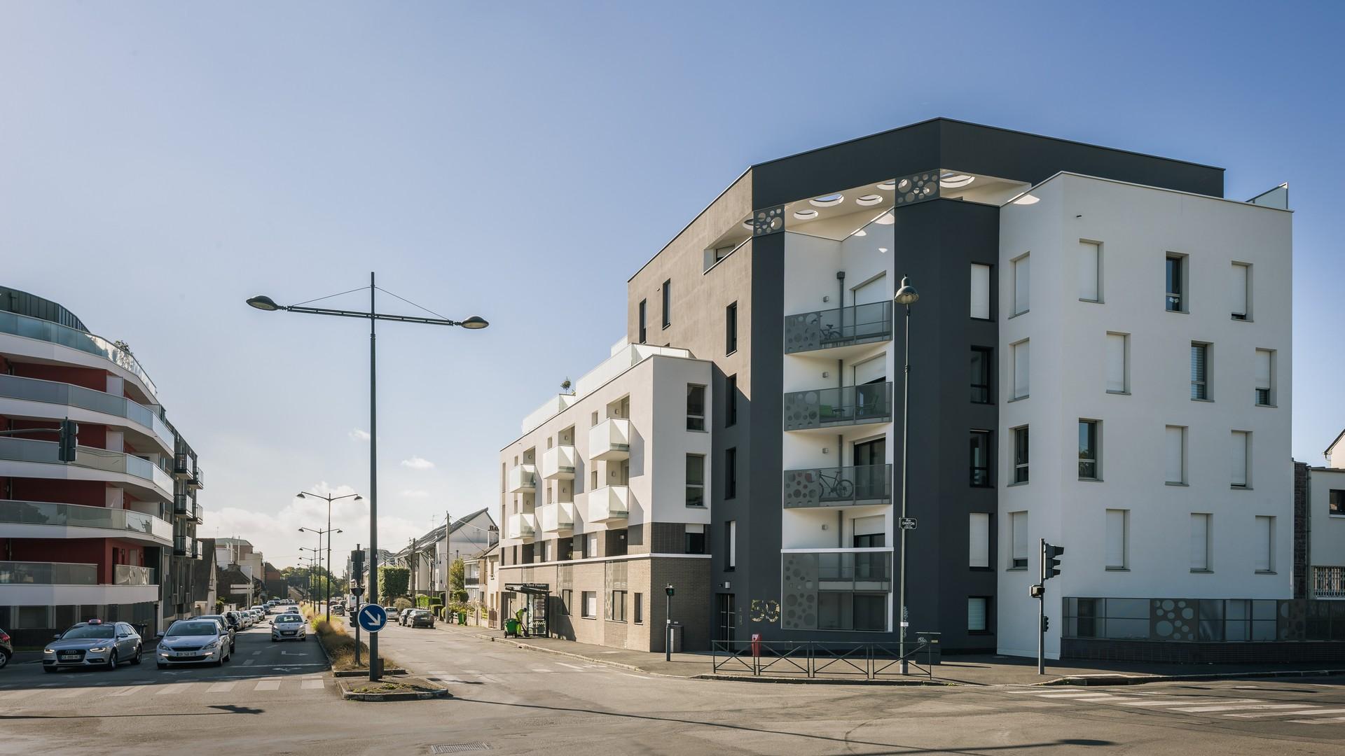 37 logements Villa Bel air à Rennes