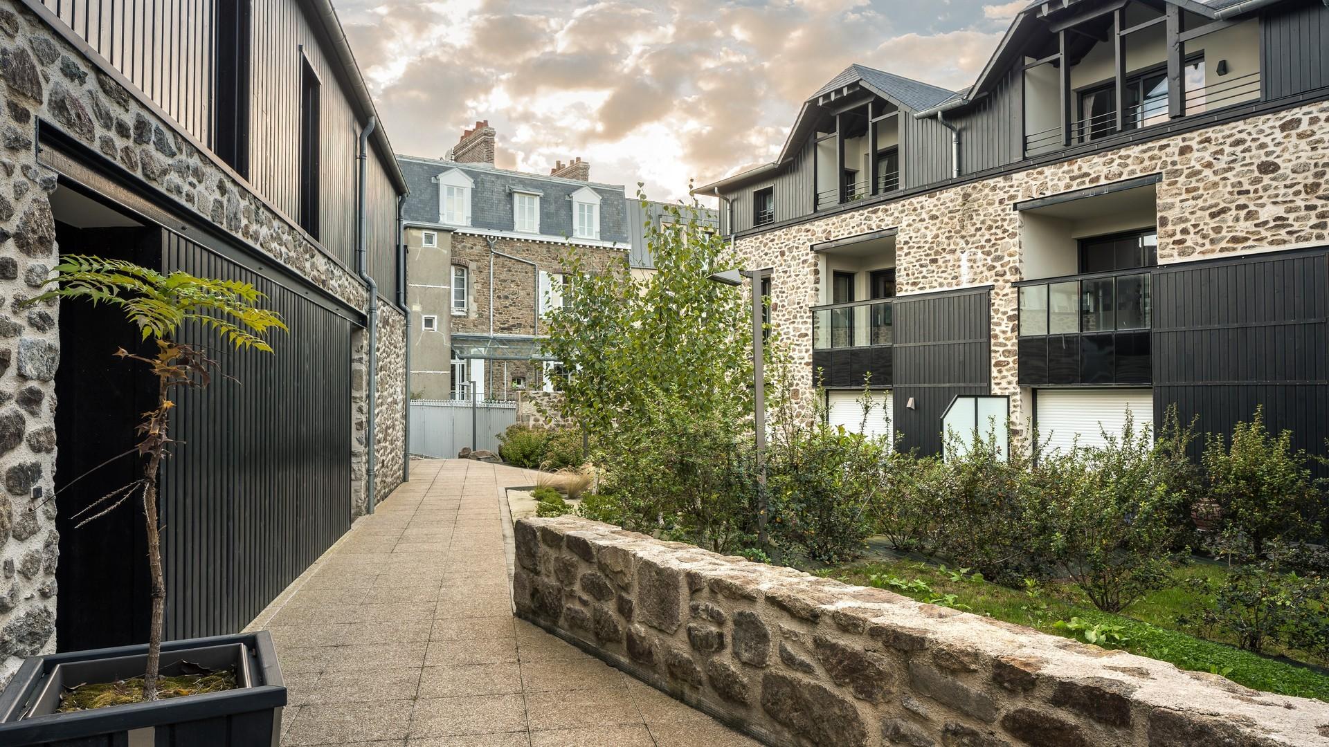 18 logements Les voileries Richard à Saint-Malo