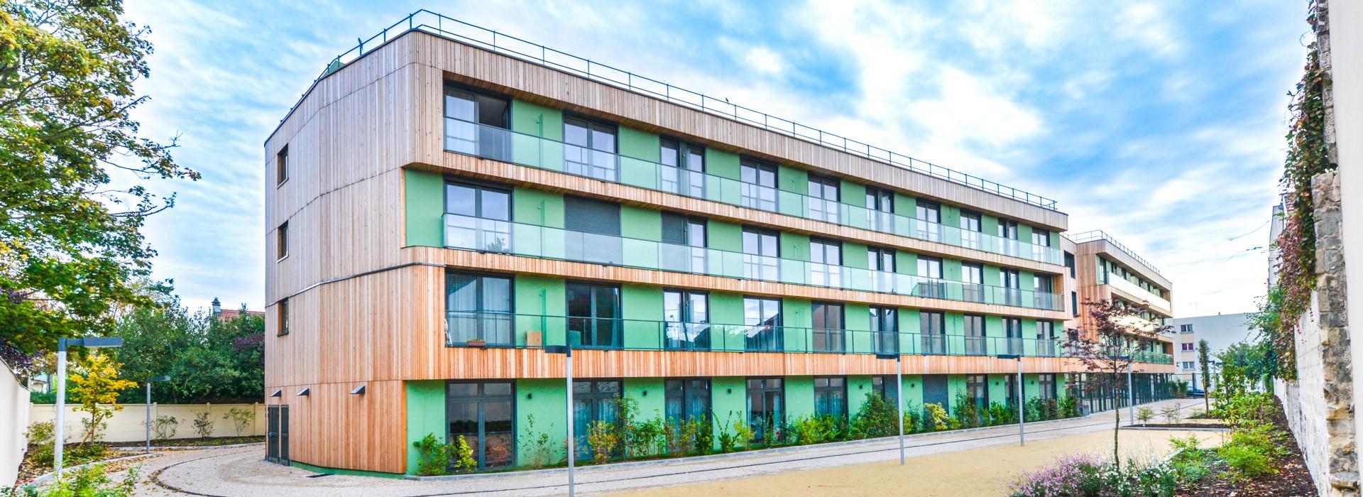 82 logements <br/>Résidence Services Séniors<br/>«Le Clos Montebello» à Maisons Laffitte